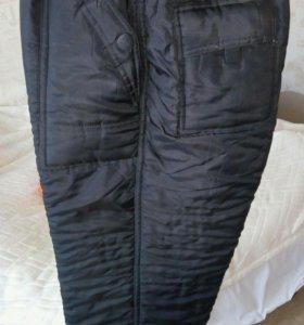 Мужские утепленные штаны.