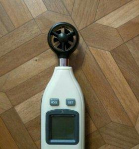 Анемометр, Замер скорости ветра