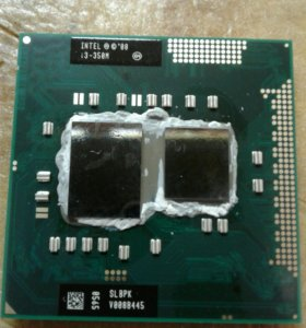 Процессор для ноутбука intel i3-350m