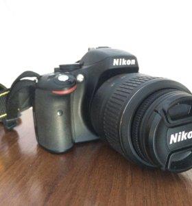 Фотоаппарат Nikon d5100 18-55mm