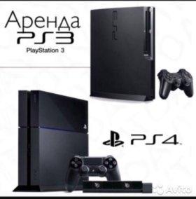 Прокат сони PS4 PS3
