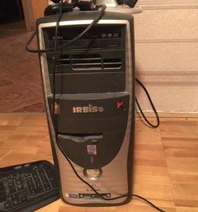 Системный блок + Монитор + камера + клавиатура