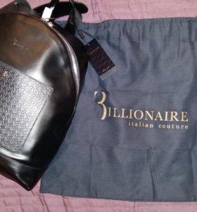 Billionaire Italian Couture. Новый кожаный рюкзак
