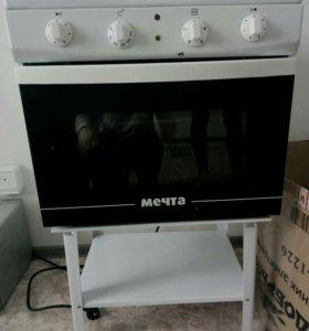 Плита с духовкой Новая