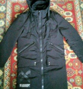 Длини зимны куртка