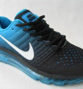 Кроссовки Nike air max 2017 Текст.Ч.Гол.38