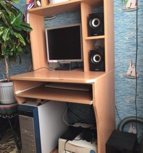 Компьютер в комплекте с компьютерным столом