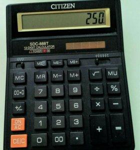 Калькулятор CITIZEN SDC-888T Япония