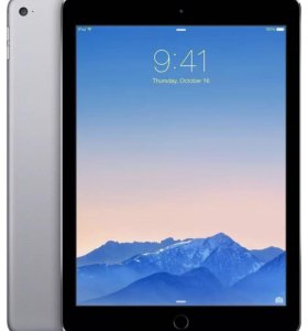 iPad Air 2, 64gb, space grey, sim