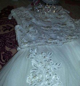 платье для принцессы.пышное.
