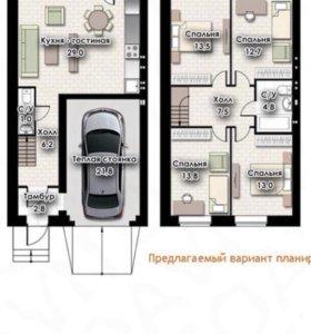 Таунхаус, 130 м²