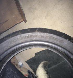 Резина Bridgestone 2 балона передний и задний