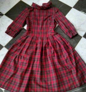 Платье шотландка