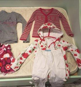 Одежда пакетом 110-116
