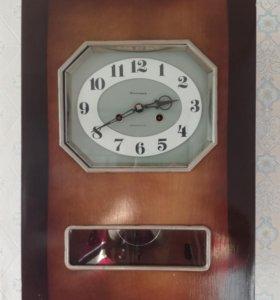 Советские механические часы «Янтарь»