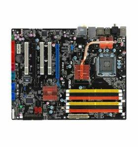 Материнская плата сокет 775 Asus P5KC DDR3+DDR2