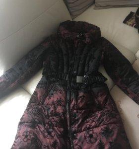 Теплое зимнее пальто, женское. 46-48р.