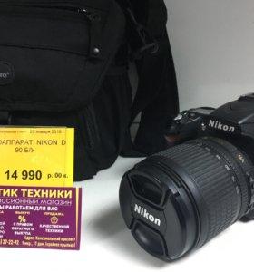 Зеркальный Профессиональный фотоаппарат Nikon D90
