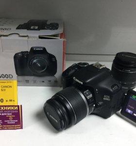 Профессиональный Зеркальный Фотоаппарат Canon 600D