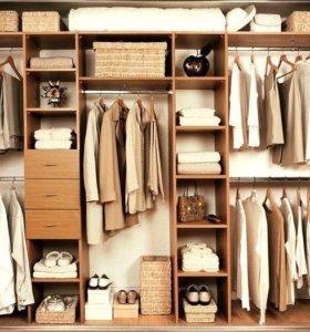 Изготовление шкафов купе и гардеробных