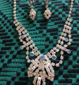 Ожерелье+серьги