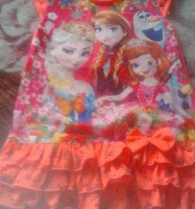 Платье на лет 5-6