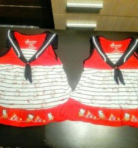 2 платья для девочек.
