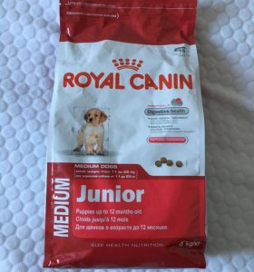 Корм для собак Роял Канин Джуниор.