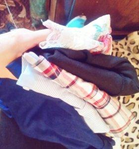 Пакет вещей, одежды (5шт)