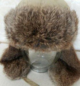 Новая шапка натуральный мех раз. 58-60