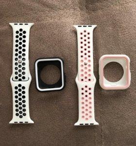 Ремешок и чехол для Apple Watch 42мм