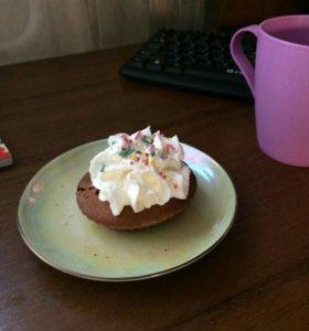 Имбирное шоколадное печенье, кексики, блинчики