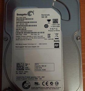 Жёсткий диск 500 Гб Seagate ST500DM002