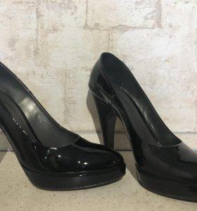 Туфли - натуральная кожа/лак