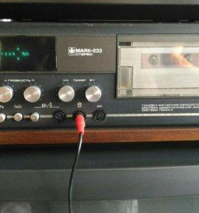 Магнитофон приставка МАЯК-233