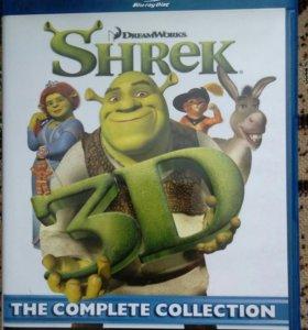 Шрек 4 диска Blu-ray