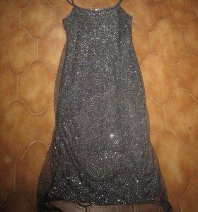 Шикарное платье в пол, новое