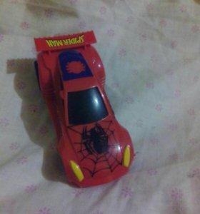 Машинка человека паука