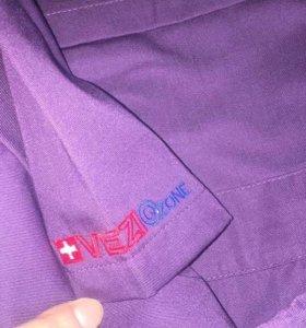 Комплект мед.одежды фиолетового цвета L-XL р.