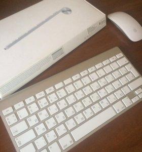 Apple клавиатура и мышь