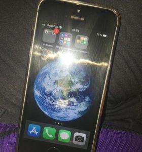 Айфон 5 s в хорошем состоянии