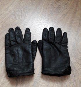 Мужские кожанные перчатки