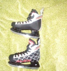 Коньки хоккейные Larsen ALEX (38 размер)