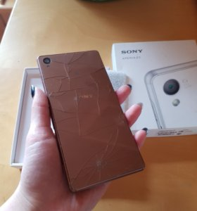 Sony xperia Z3 разбитый