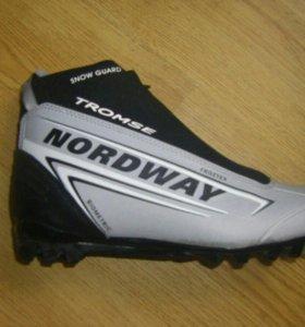 """Лыжные ботинки """"MORDWAY"""" 46 размер"""