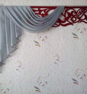 ажурные ламбрекены индивидуальный пошив