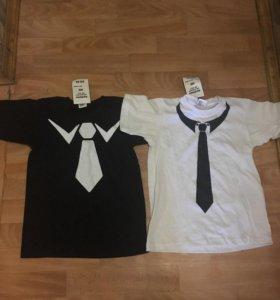 Новые футболки для мальчика на рост 134-140 см