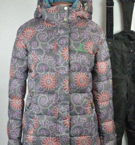 Новый стёганый лыжный женский костюм зимний