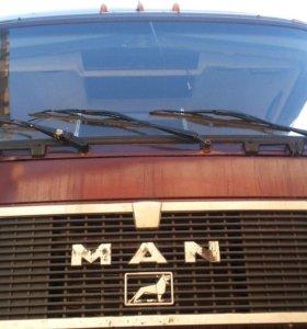 man 33 и прицеп trailor