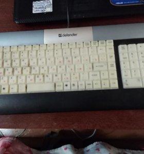 Мультимидийная клавиатура с подсветкой